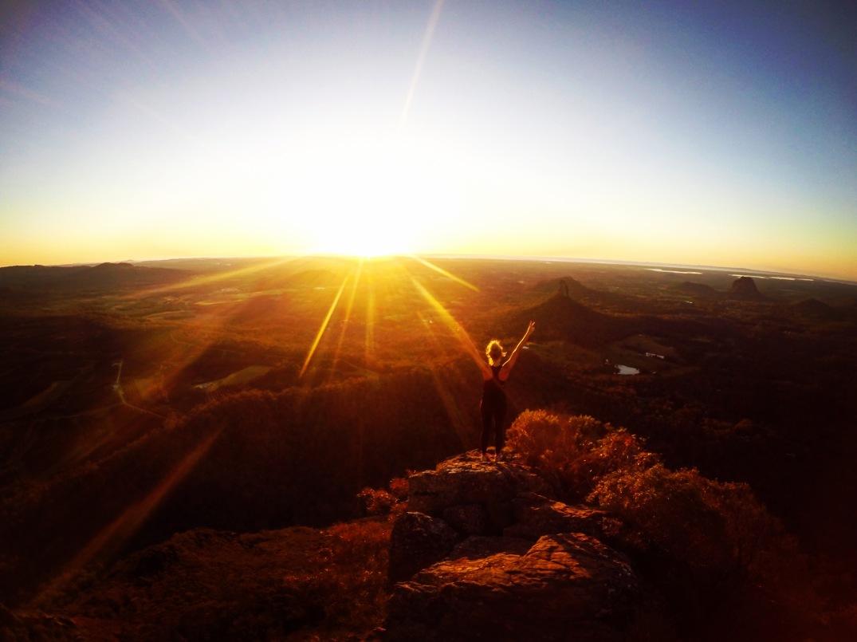 Sunrise Glasshouse Mountains